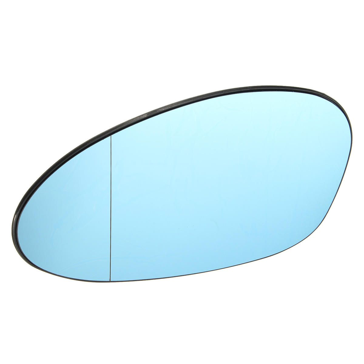 Blue Tinted Electric Left Wing Mirror Glass For Bmw M3 E46 Coupe