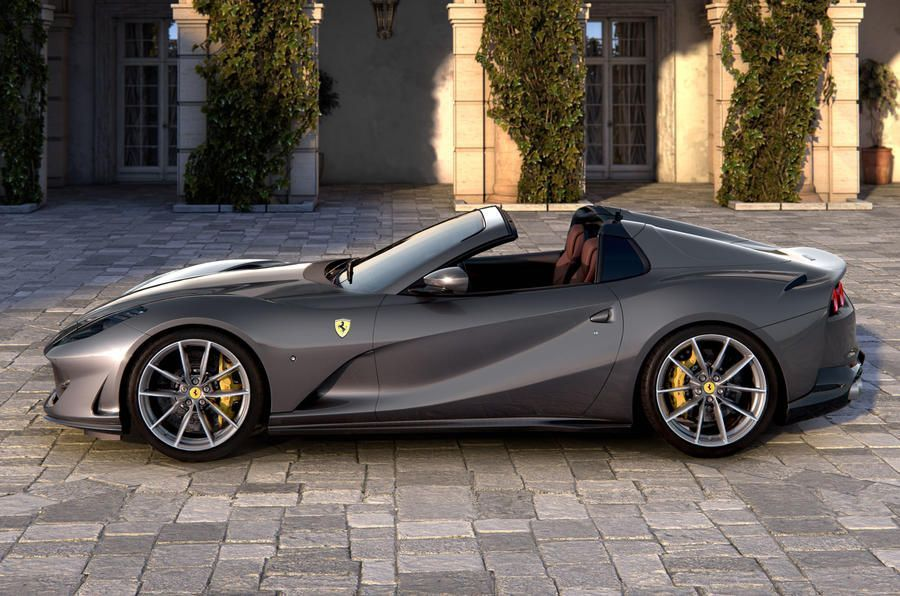 New Ferrari 812 Gts Is Most Powerful Production Convertibleautocar