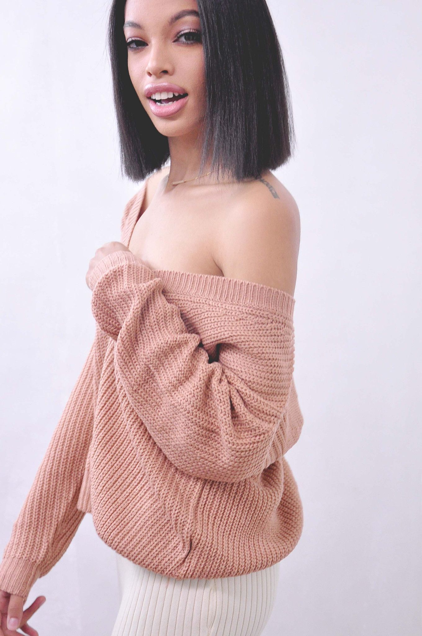 Comfy Lodge Knit Sweater