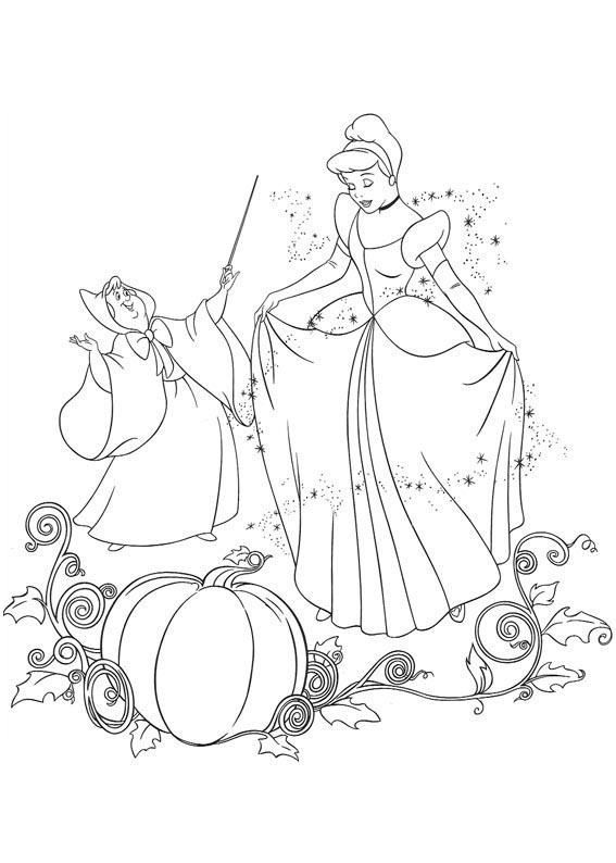 Cinderella Cinderella Coloring Pages Disney Princess Coloring Pages Princess Coloring Pages