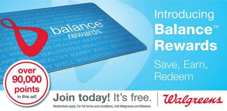 How to Benefit From Walgreens' Balance Rewards?