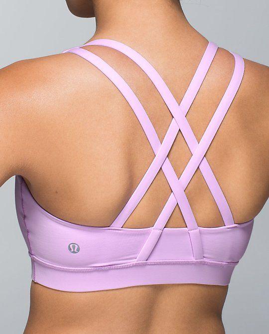 91eeee654f3cc Creative straps.. Lululemon Energy Sports Bra