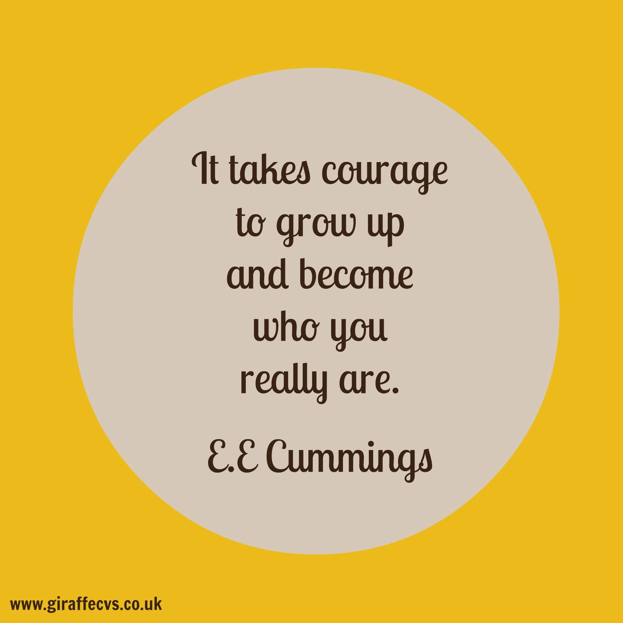 Are you courageous? Cv writing service, Career quotes