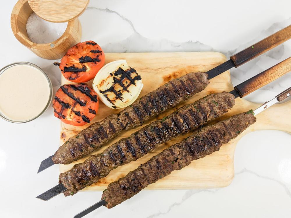 Brazilian Ground Beef Kebabs Recipe Beef Kebabs Kebab Ground Beef