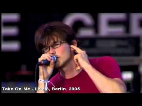 A Ha Take On Me Tomame En Vivo Live 8 Berlin 2005