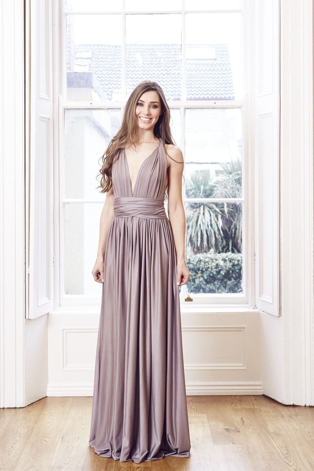 Our stunning mink multi wrap dress is definitely a wardrobe staple our stunning mink multi wrap dress is definitely a wardrobe staple it is the perfect dress for bridesmaids maternity wear or anyone who is attending a ombrellifo Image collections
