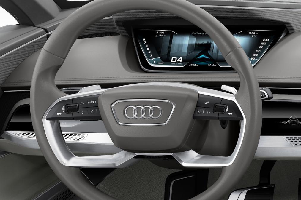 Audi prologue concept steering wheel Car interior