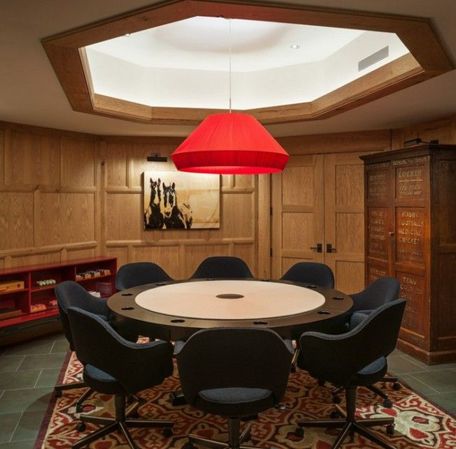 Top 10 Stylish Poker Rooms | Game room, Poker room, Family room