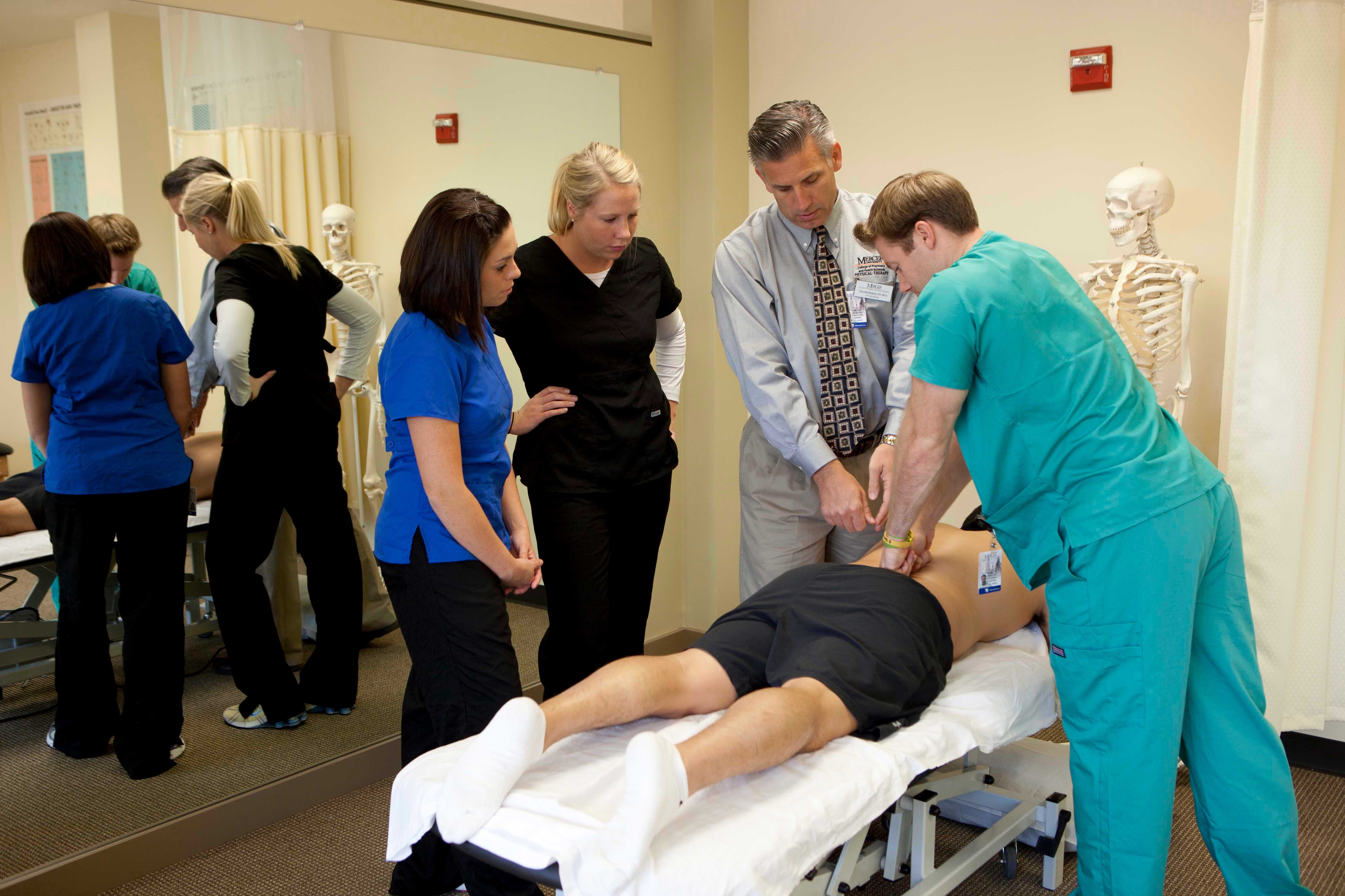 Physical therapists will wear scrubs if they work in a ...