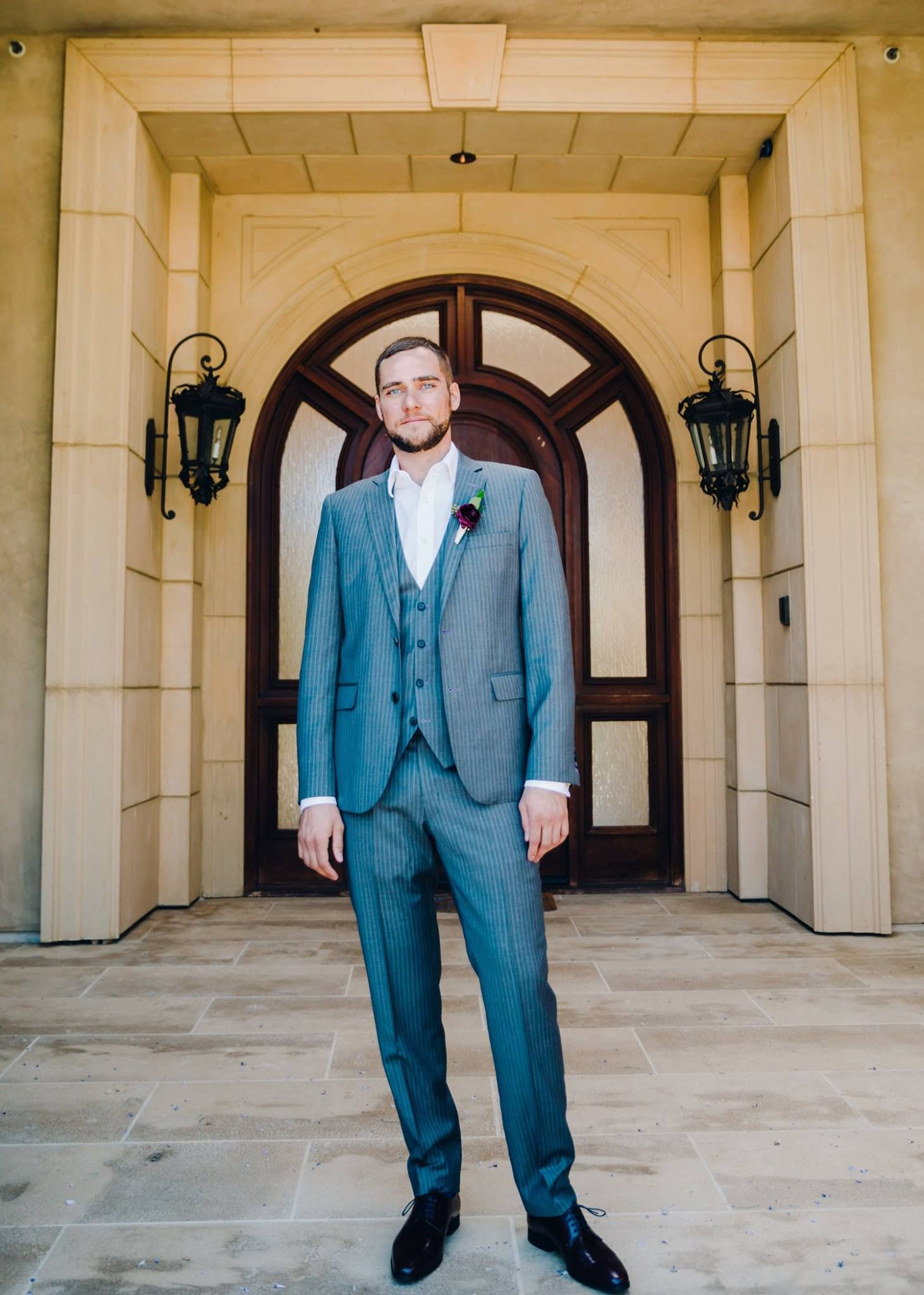 Sleek and handsomely tailored, this bespoke suit by #JBClothiers is ...