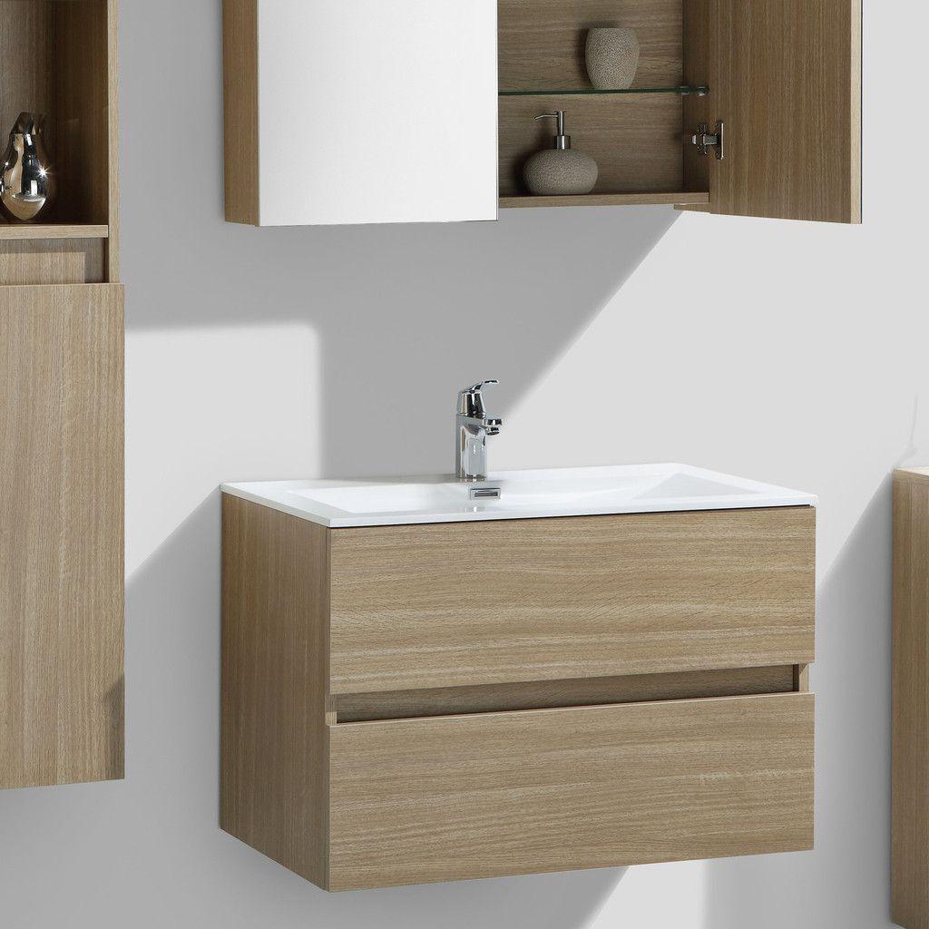 Armoire Salle De Bain 70 Cm Largeur meuble salle de bain design simple vasque siena largeur 80