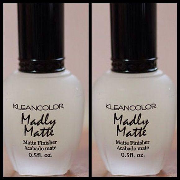 Kleancolor madly matte nail polish 2 Kleancolor Nail Polish Lacquer ...