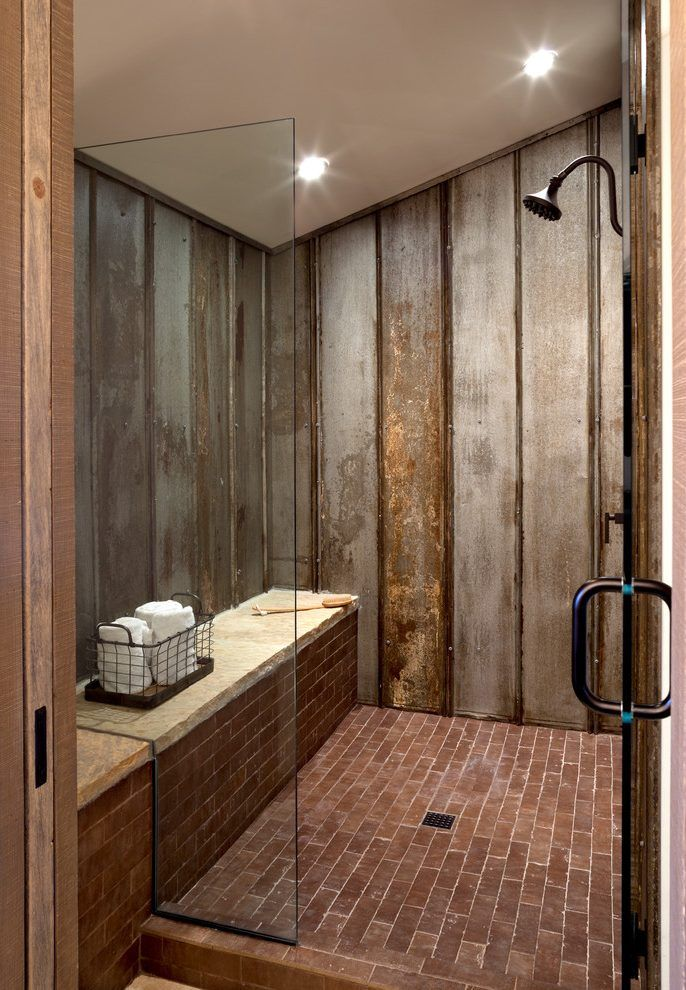 image result for galvanized shower farmhouse shower on beautiful farmhouse bathroom shower decor ideas and remodel an extraordinary design id=67051