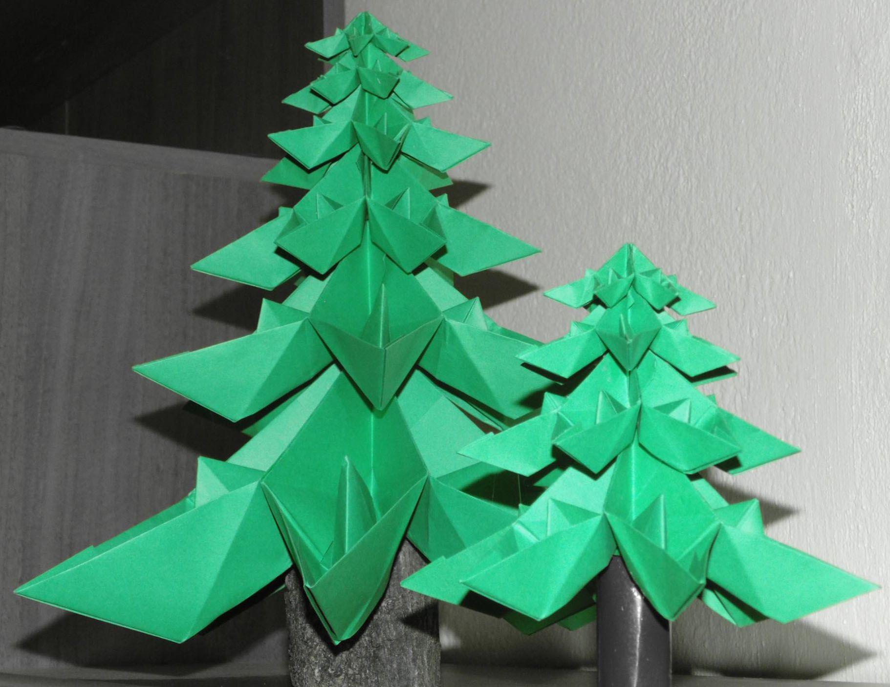 NapadyNavody.sk | Ako si vyrobiť 3D origami vianočný stromček
