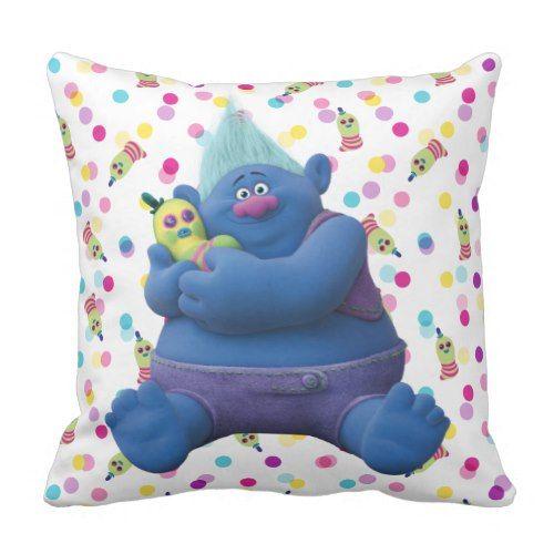 Biggie & Mr. Dinkles Throw Pillow