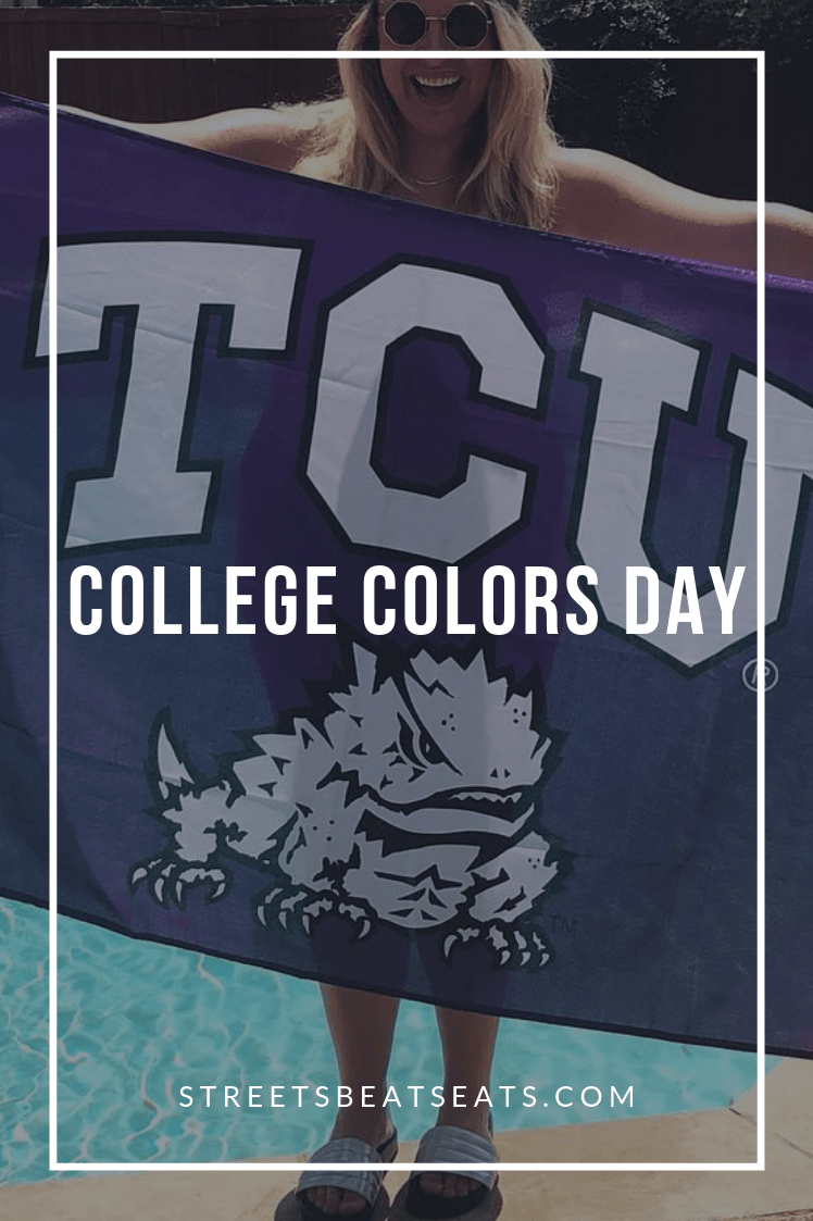 Football Fridays Kicking Off with College Colors Day