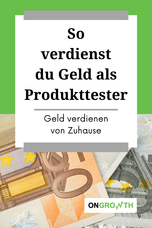 Geld Verdienen Produkte Testen