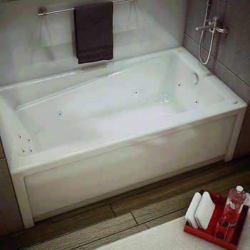 MAAX New Town   Whirlpool Bathtub With Right Hand Drain