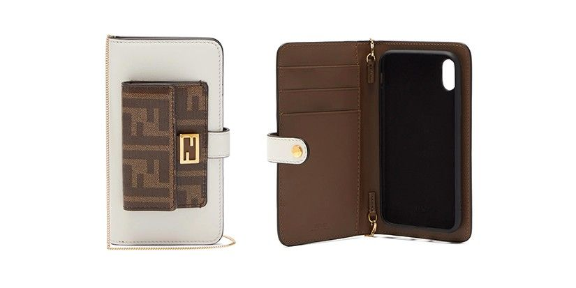 Fendis baguette iphone x case crossbody bag is your new