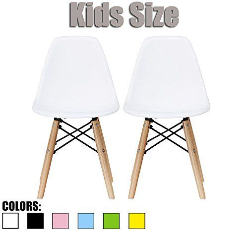 Kids Desk Chairs 2xhome Set Of Two 2 White Eames Chair For Kids Size Eames Side Chairs Eames Chairs White Eames Side Chair Kids Chairs White Eames Chair