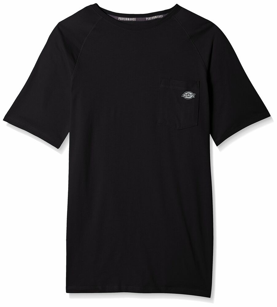 Ebay Sponsored Dickies New Black Mens Size Lt Performance Cooling