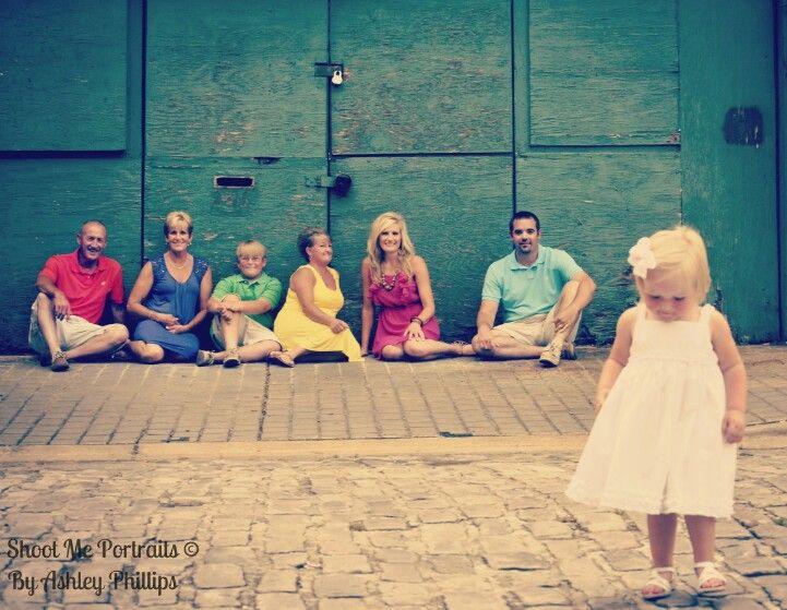 Family Portrait - Shoot Me Portraits By Ashley Phillips