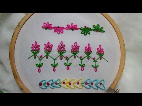Hand Embroidery Designs Basic Embroidery Stitches Part 7