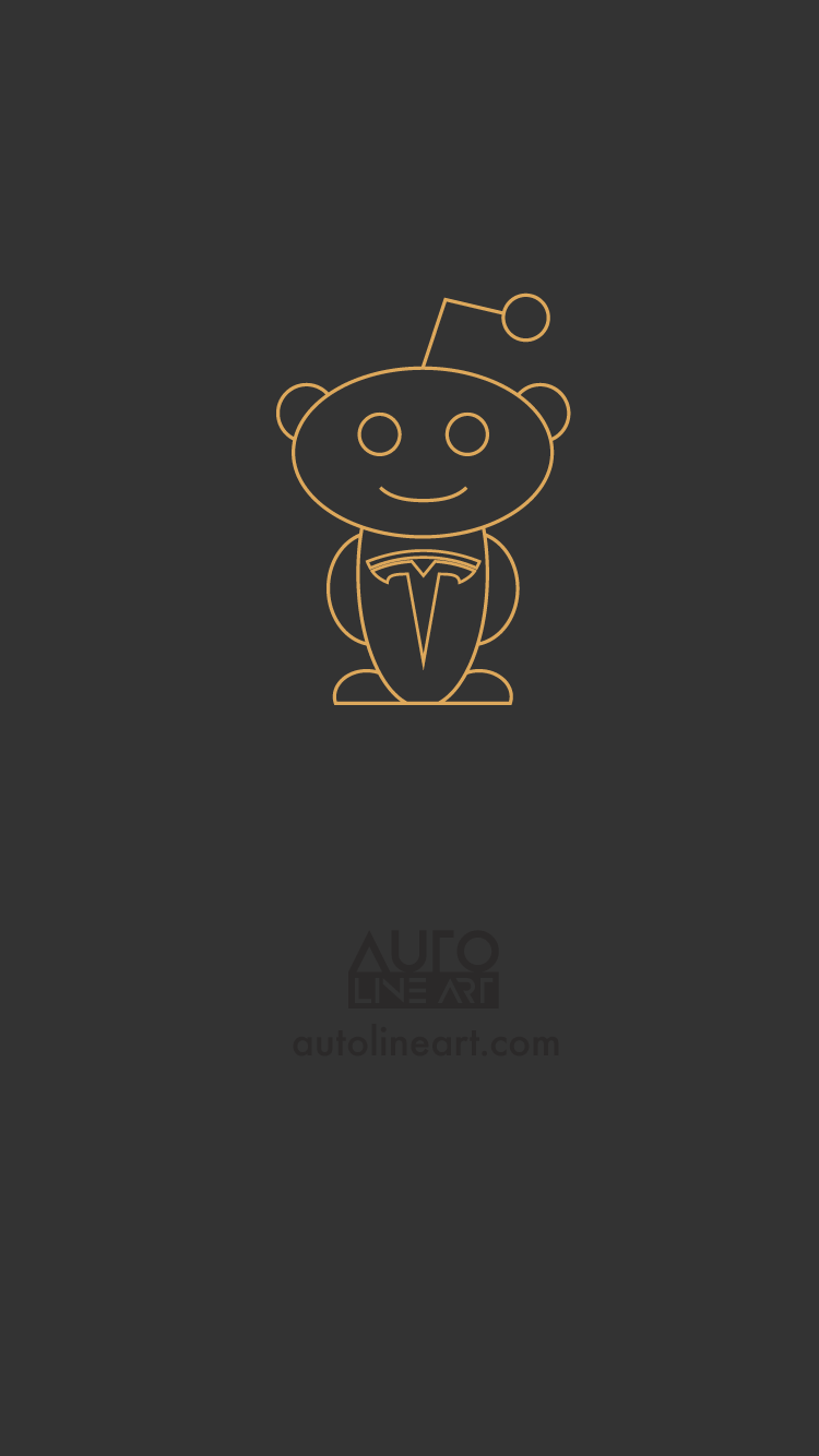 Tesla Snoo Logo Mobile Wallpapers Available In 750x1334 1080x1920 1125x2436 1440x2560