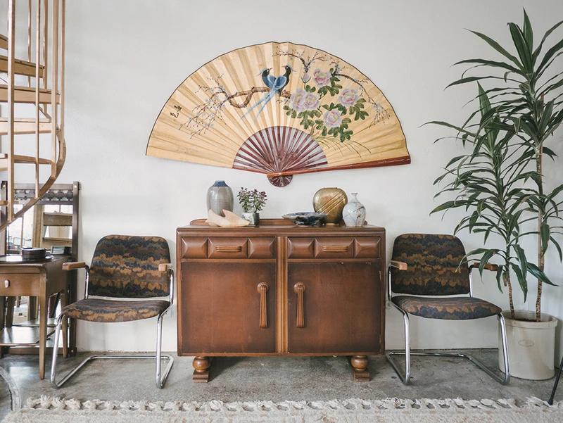 Japanese Wall Fan Homestead Seattle Japanese Home Design Japanese Home Decor Asian Home Decor