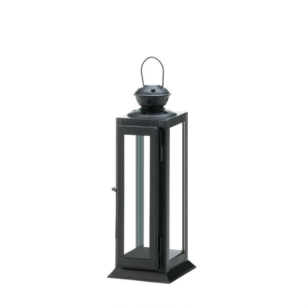 Metal Candle Lantern, Outdoor Patio Candle Lanterns Metal Candle Holder