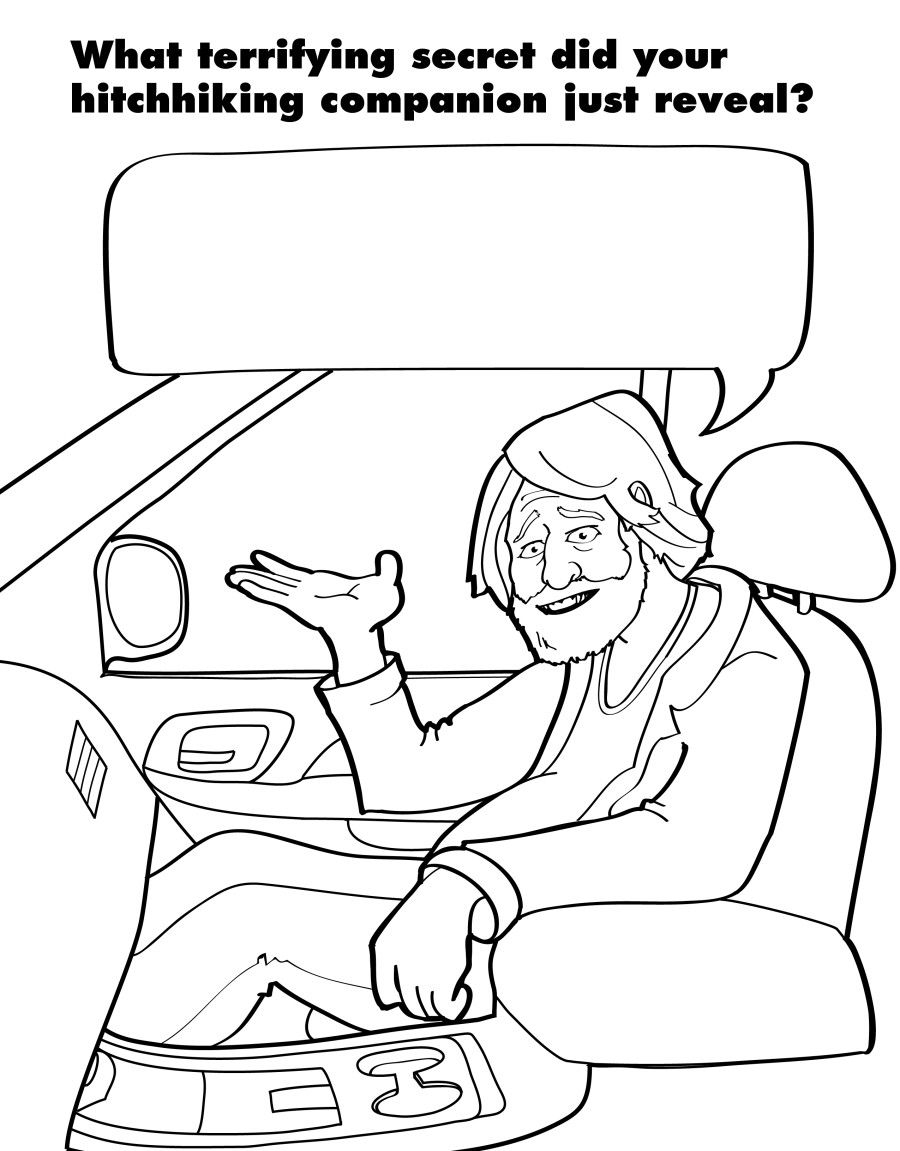 A Coloring Book For Grown Ups Captures The Beautiful Horrors Of Adulthood