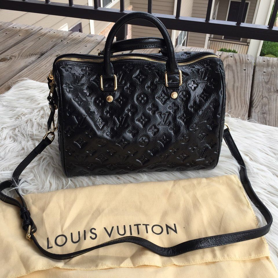 bb68bf4e0c4f Louis Vuitton Empreinte Speedy 30. Check this out on Depop http   depop