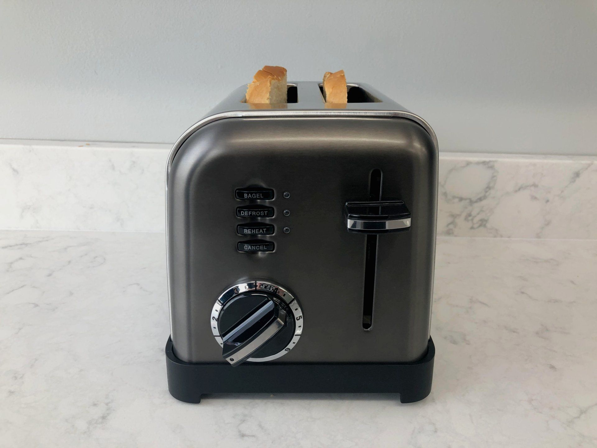 Cuisinart Cpt 160bks Toaster Review 2 Slice Stainless Steel In 2020 Toaster Toaster Reviews Cuisinart