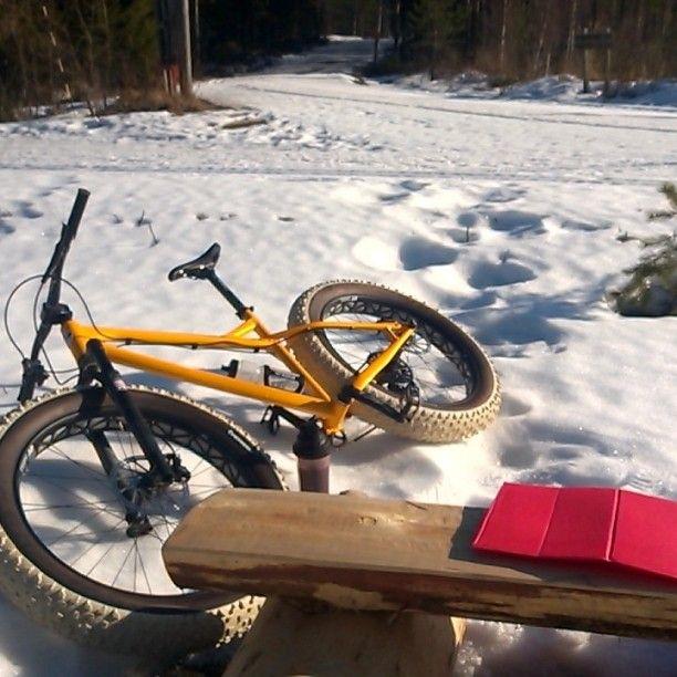 #fatbike #poke #Jyväskylä #versonaservice #winterbiking