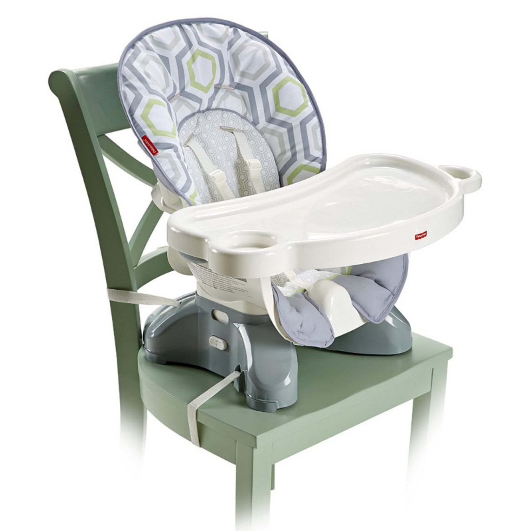 Fisher Price SpaceSaver High Chair Geo Meadow DKR70
