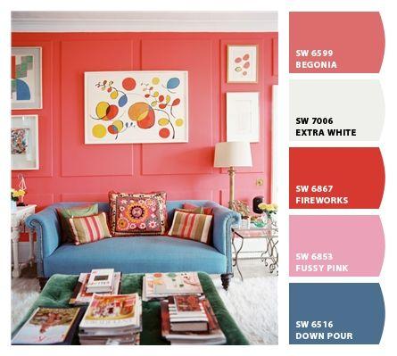 From Lonny Magazine | Make mine {Colorful} | Pinterest