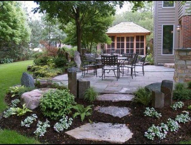 Outdoor Area Backyard Landscaping Designs Patio Landscaping