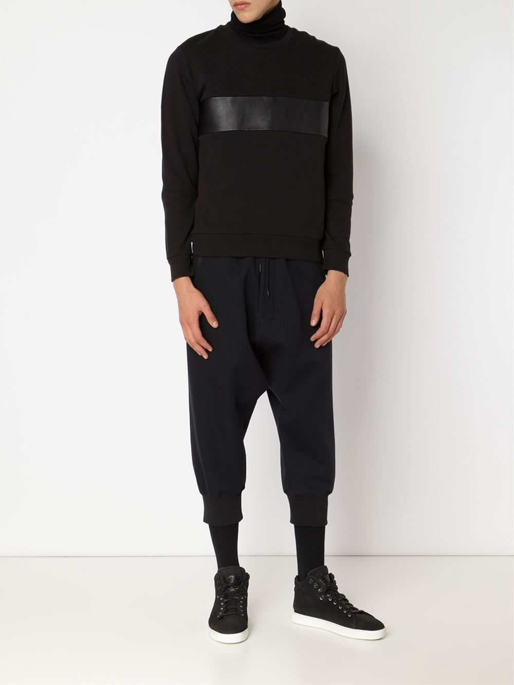 554ac50f1b2 Y-3 Dropped Crotch Track Pants - Gigi Tropea - Farfetch.com
