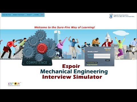 Job Interview Simulation Mechanical Engineering - 2 - http - mechanical engineering job description