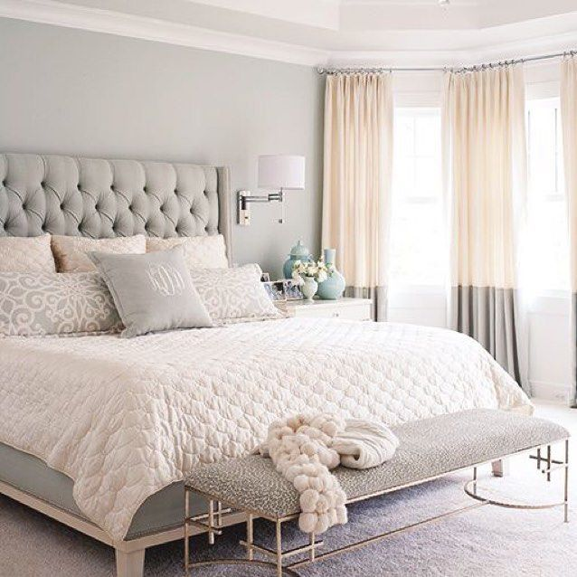 36 Relaxing Neutral Bedroom Designs: God Natt Säger Jag Efter En Härlig Helg! #goodnight