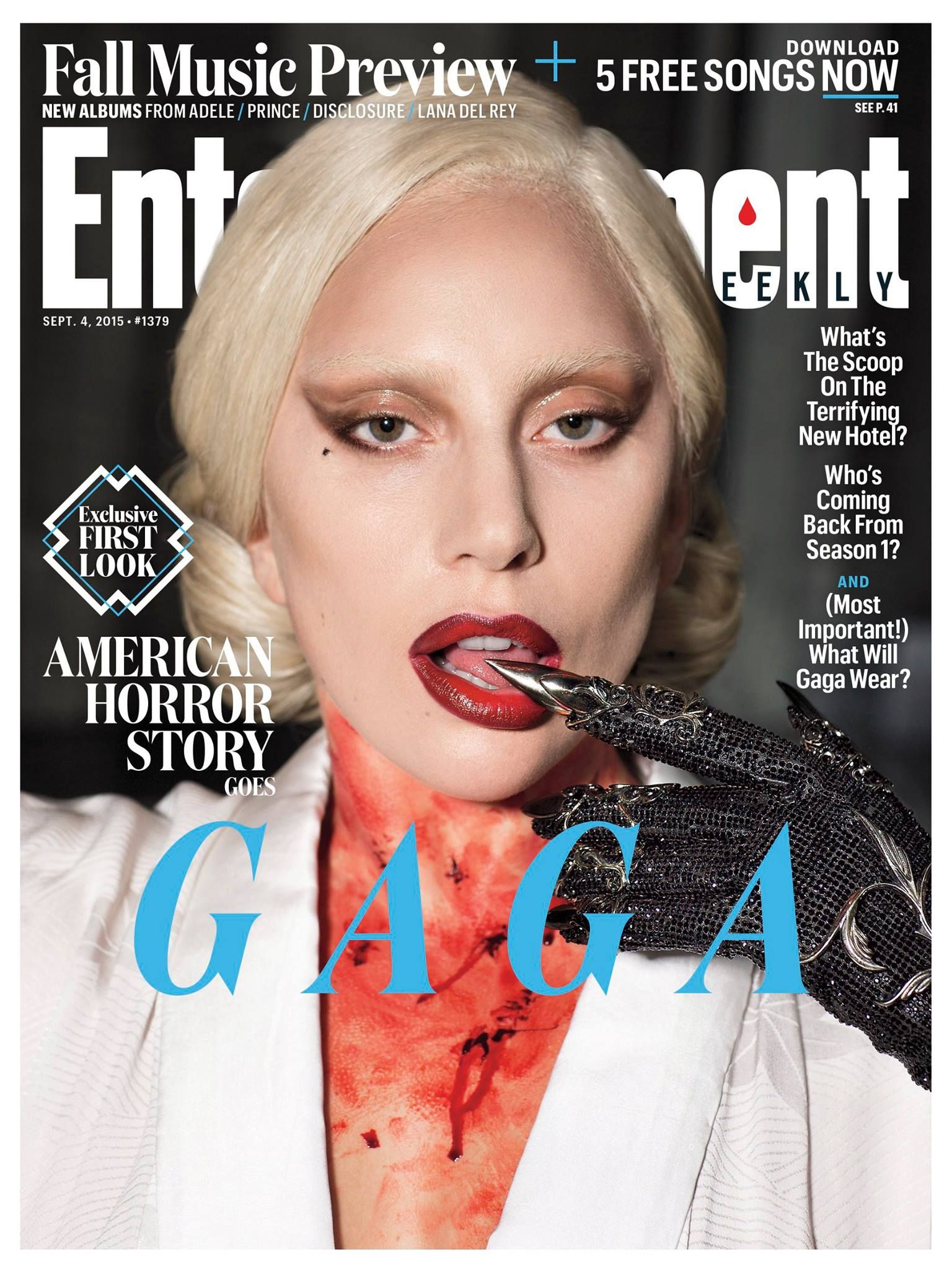 Lady Gaga On The Cover Of Entertainment Weekly September 2017