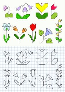 SER NIOS dibujos en cuadricula  Cuadriculado  Pinterest