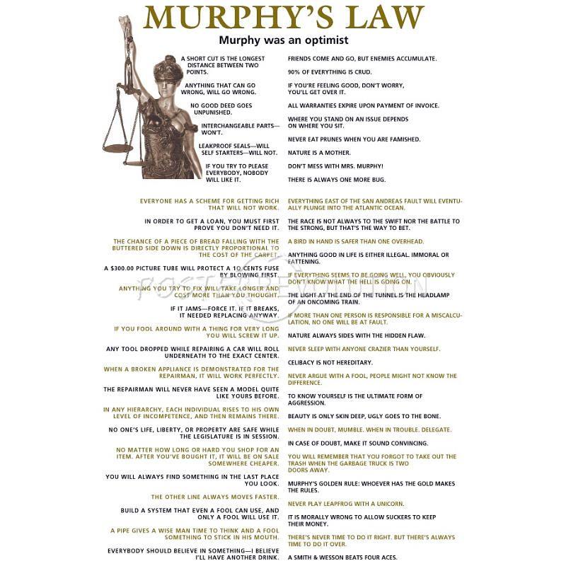 Pin By Marcia A Fitzgerald On Self Love Boyfriends Birthday Ideas Murphy Law Poster