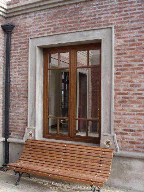 Aberturas de pvc deco casa casas peque as bonitas for Aberturas pvc simil madera precios