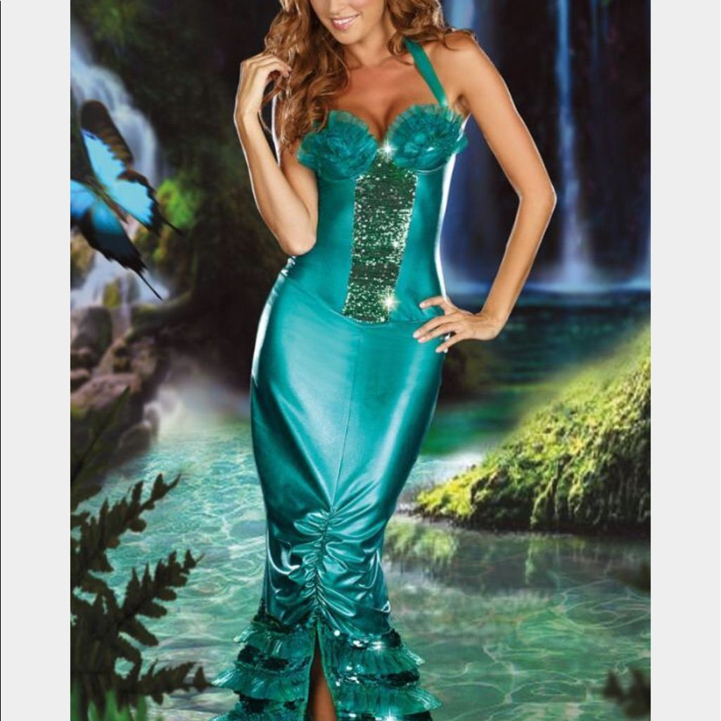 Mermaid Halloween Costume (With images) Mermaid fancy