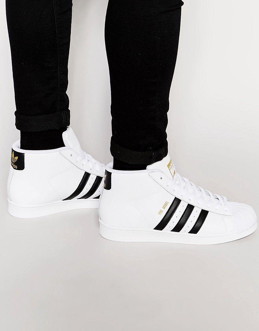ModeDagen.dk | Adidas, White shoes men