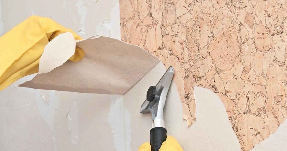 Cómo quitar el papel pintado de tu pared