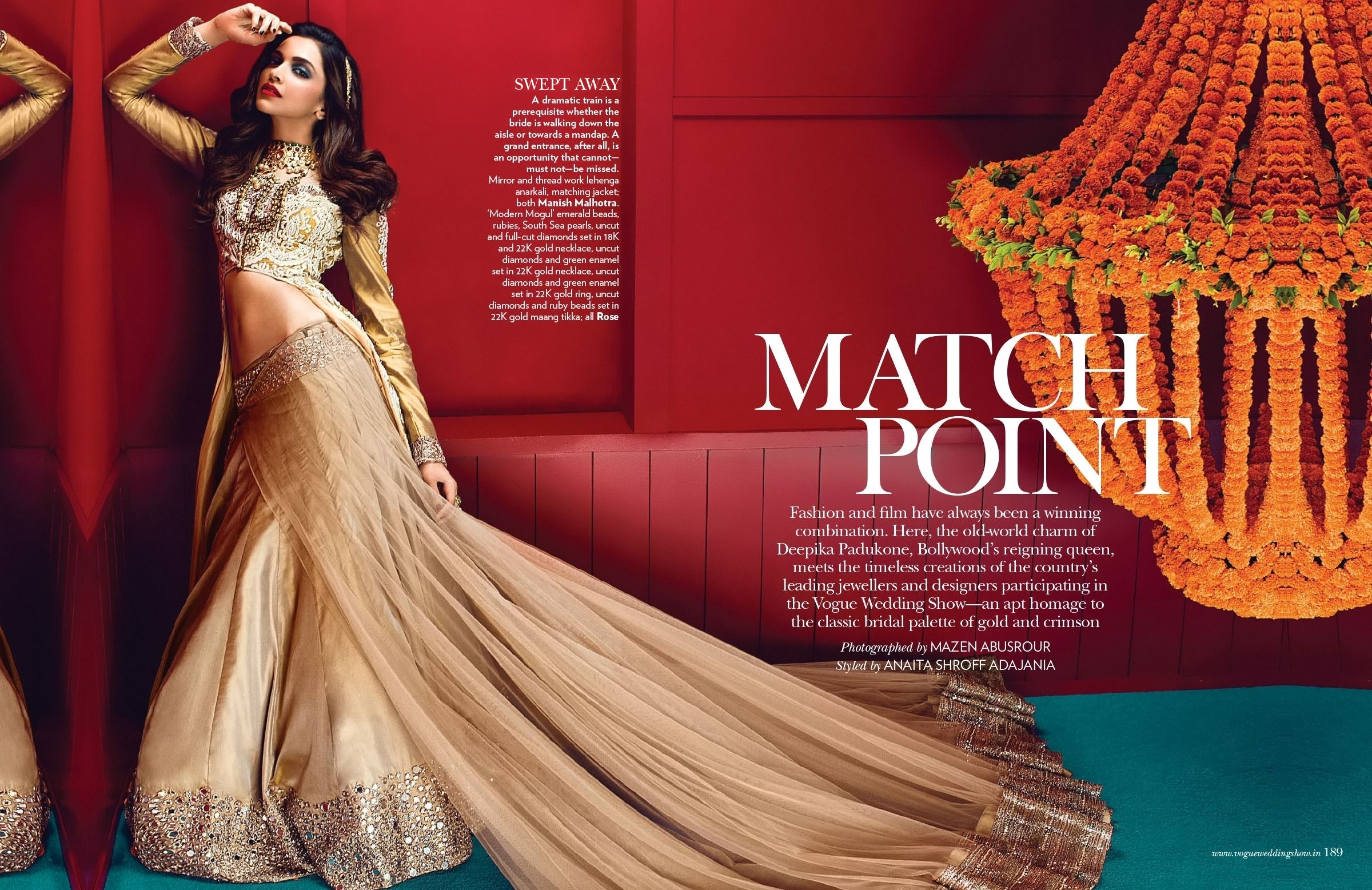 Deepika Padukone S Bridal Editorial In Vogue India Indian Wedding Fashion Vogue India Indian Wedding Outfits
