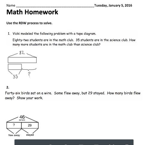 Ten math tape diagram wiring library g2 m4 l16 alternative homework with additional tape diagram rh pinterest com 3rd grade math tape diagram tape diagram math problems ccuart Image collections