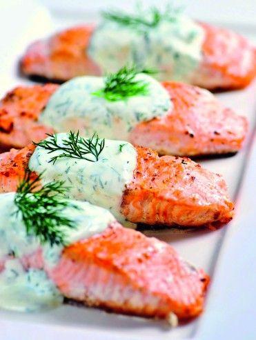 Salmon Como Cocinarlo | Salmon En Crema De Eneldo Cocina Pinterest Mariscos Recetas